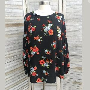 Philosophy Bell Sleeve Top Sz M